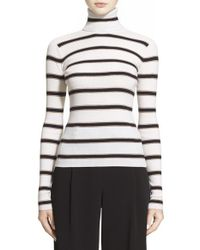 A.L.C. | Blue 'ollie' Stripe Wool Blend Sweater | Lyst