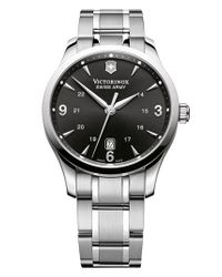 Victorinox | Metallic Victorinox Swiss Army 'alliance' Large Bracelet Watch for Men | Lyst