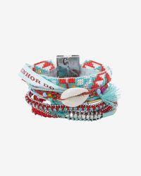 Hipanema - Blue Diablo Bracelet Red - Lyst