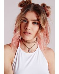 Missguided - Metallic Nose Cuff Gold - Lyst