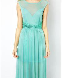 AX Paris | Blue Maxi Dress | Lyst