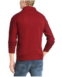 BOSS Orange Red 'wawy' | Cotton Terry Sweatshirt for men