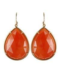 Irene Neuwirth - Red Medium Pear Shaped Earrings - Lyst