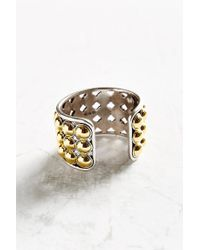 Giles & Brother | Metallic Ball Cuff Bracelet | Lyst