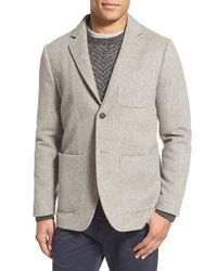 Billy Reid Gray 'larson' Virgin Wool Blazer for men