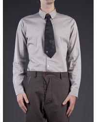 Vivienne Westwood - Gray Orbit Print Tie for Men - Lyst