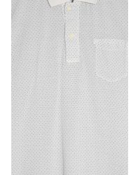 120% Lino - Gray Cruise Polo Shirt for Men - Lyst