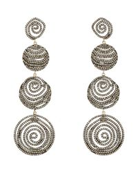 Carole Shashona | Metallic Galaxy Drop Earrings | Lyst
