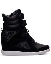 Reebok - Black Women'S Alicia Keys Wedge Casual Sneakers From Finish Line - Lyst