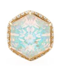 Stephen Webster - Metallic Opal Cocktail Ring - Lyst