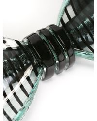 Cor Sine Labe Doli | Green Striped Bow Tie for Men | Lyst