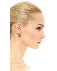 Pamela Love - Blue Frida Ear Jacket Earrings - Brass/turquoise - Lyst
