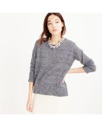 J.Crew Black Marled Tunic Sweater