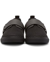 DSquared² | Black Strap Low-top Sneakers for Men | Lyst