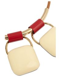 Marni - White Gold-plated - Lyst
