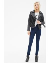 Forever 21 | Blue Classic Skinny Jeans | Lyst