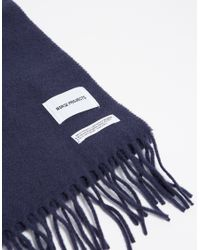 Norse Projects - Blue Sigurd Scarf for Men - Lyst