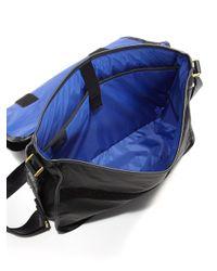 DIESEL - Black On The Road Trip Messenger Bag for Men - Lyst