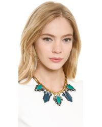 Lulu Frost - Blue Lucid Statement Necklace  - Lyst