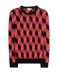 Michael Kors | Multicolor Cashmere Sweater | Lyst