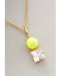 Sabrina Dehoff | Yellow Darena Necklace | Lyst