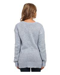 BB Dakota - Blue Colby Crew Neck Sweater - Lyst