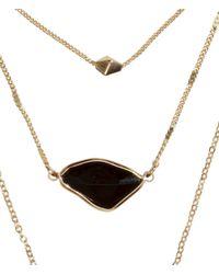 H&M Metallic Multistrand Necklace