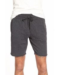 Ezekiel | Black 'trainer' French Terry Knit Shorts for Men | Lyst