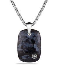 David Yurman - Metallic Exotic Stone Tablet with Pietersite for Men - Lyst