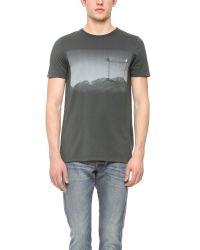 Baldwin Denim Gray Mountain T-Shirt for men