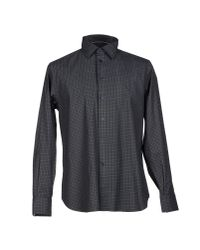 AT.P.CO - Gray Shirt for Men - Lyst