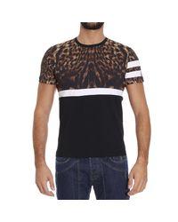 Class Roberto Cavalli Natural T-shirt for men