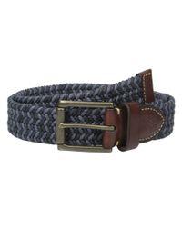 Fossil - Blue Kyle Belt for Men - Lyst
