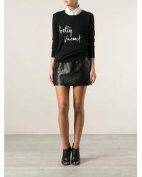 Markus Lupfer Black Pretty Vacant Sweater