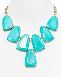 Kendra Scott | Blue Harlow Necklace 18 | Lyst