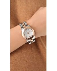 Marc By Marc Jacobs Metallic Amy Watch