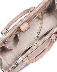 MICHAEL Michael Kors Pink Sutton Medium Satchel Bag