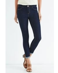 Oasis Blue Clean Rinse Wash Jade Crop Jeans