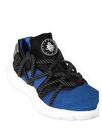 Nike Blue Huarache Natural Motion Sneakers for men