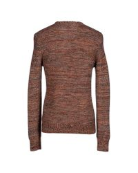 Hardy Amies Brown Jumper for men
