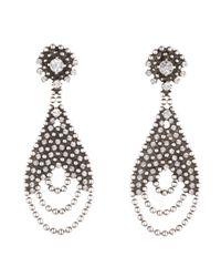 DANNIJO - Metallic Catalina Earrings - Lyst