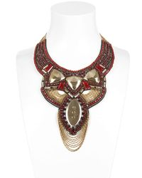Ranjana Khan | Metallic Fall Winter Collection Necklace | Lyst
