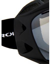 Lacroix Black Offtracker Ski Goggles for men