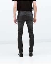 Zara | Gray Skinny Jeans for Men | Lyst