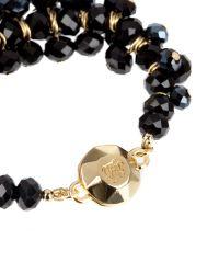 Ted Baker - Bead Cluster Bracelet - Black - Lyst