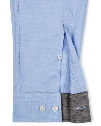 BOSS Blue Boss Green C-buster Cotton Long Sleeve Shirt for men