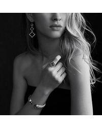 David Yurman - Metallic Infinity Ring With Amethyst - Lyst