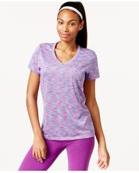 Under Armour - Blue Ua Tech™ Disruptive Space Dye V-neck - Lyst
