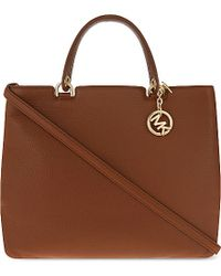 2e0e3637d88bd Lyst - MICHAEL Michael Kors Anabelle Extra-large Grained Leather ...