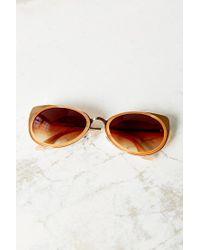 Urban Outfitters - Metallic Vega Cat-eye Sunglasses - Lyst